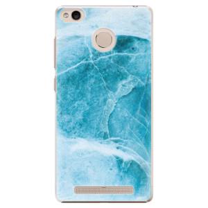 Plastové pouzdro iSaprio Blue Marble na mobil Xiaomi Redmi 3S