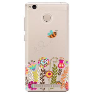 Plastové pouzdro iSaprio Bee 01 na mobil Xiaomi Redmi 3S