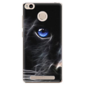 Plastové pouzdro iSaprio black Puma na mobil Xiaomi Redmi 3S