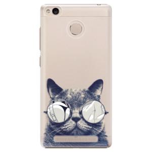 Plastové pouzdro iSaprio Šílená Číča 01 na mobil Xiaomi Redmi 3S