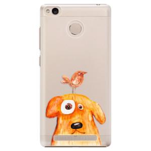 Plastové pouzdro iSaprio Pejsek a Ptáček na mobil Xiaomi Redmi 3S