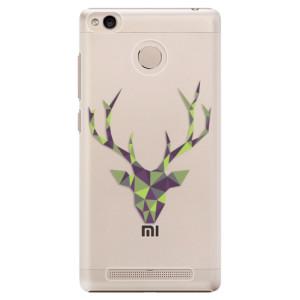 Plastové pouzdro iSaprio Zelený Jelínek na mobil Xiaomi Redmi 3S