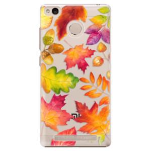 Plastové pouzdro iSaprio Autumn Leaves 01 na mobil Xiaomi Redmi 3S