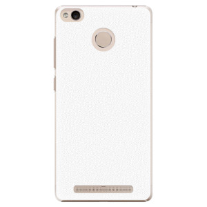 Plastové pouzdro iSaprio 4Pure bílé na mobil Xiaomi Redmi 3S