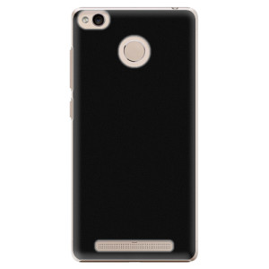 Plastové pouzdro iSaprio 4Pure černé na mobil Xiaomi Redmi 3S