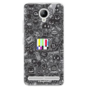 Plastové pouzdro iSaprio Text a Telka na mobil Lenovo C2