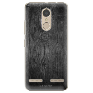 Plastové pouzdro iSaprio black Wood 13 na mobil Lenovo K6