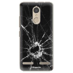 Plastové pouzdro iSaprio Broken Glass 10 na mobil Lenovo K6