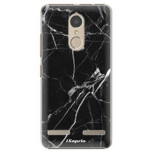 Plastové pouzdro iSaprio black Marble 18 na mobil Lenovo K6