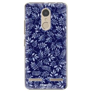 Plastové pouzdro iSaprio Blue Leaves 05 na mobil Lenovo K6