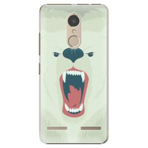 Plastové pouzdro iSaprio Angry Bear na mobil Lenovo K6