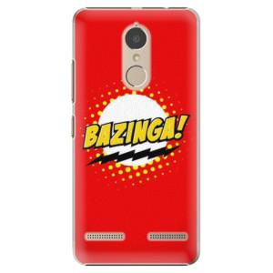 Plastové pouzdro iSaprio Bazinga 01 na mobil Lenovo K6