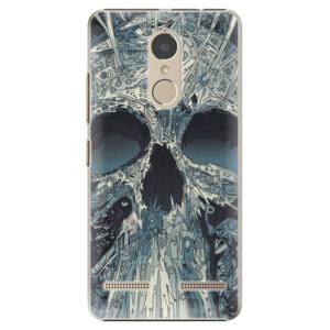 Plastové pouzdro iSaprio Abstract Skull na mobil Lenovo K6