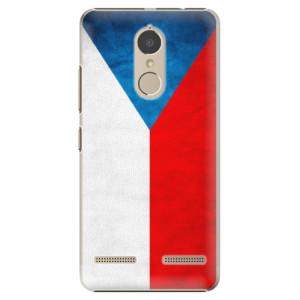 Plastové pouzdro iSaprio Česká Vlajka na mobil Lenovo K6