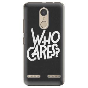 Plastové pouzdro iSaprio Who Cares na mobil Lenovo K6
