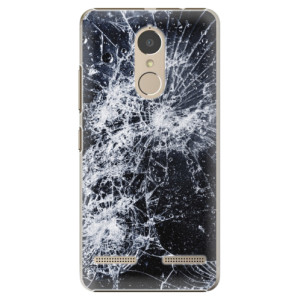 Plastové pouzdro iSaprio Praskliny na mobil Lenovo K6