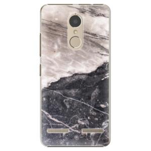 Plastové pouzdro iSaprio BW Marble na mobil Lenovo K6