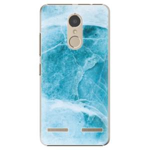 Plastové pouzdro iSaprio Blue Marble na mobil Lenovo K6
