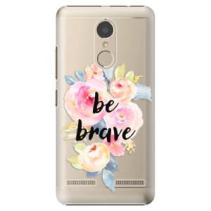 Plastové pouzdro iSaprio Be Brave na mobil Lenovo K6