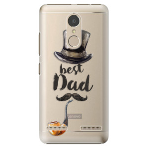 Plastové pouzdro iSaprio Best Dad na mobil Lenovo K6