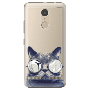 Plastové pouzdro iSaprio Šílená Číča 01 na mobil Lenovo K6