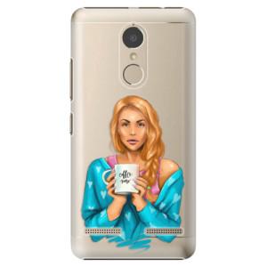 Plastové pouzdro iSaprio Coffee Now Zrzka na mobil Lenovo K6