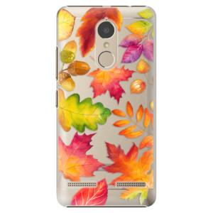Plastové pouzdro iSaprio Autumn Leaves 01 na mobil Lenovo K6
