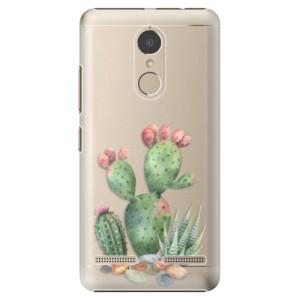 Plastové pouzdro iSaprio Kaktusy 01 na mobil Lenovo K6