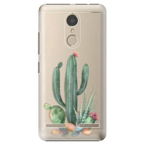 Plastové pouzdro iSaprio Kaktusy 02 na mobil Lenovo K6