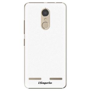 Plastové pouzdro iSaprio 4Pure bílé na mobil Lenovo K6