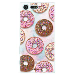 Plastové pouzdro iSaprio Donutky Všude 11 na mobil Sony Xperia X Compact