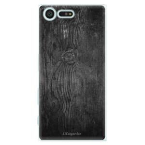 Plastové pouzdro iSaprio black Wood 13 na mobil Sony Xperia X Compact