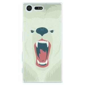 Plastové pouzdro iSaprio Angry Bear na mobil Sony Xperia X Compact