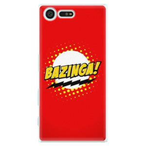 Plastové pouzdro iSaprio Bazinga 01 na mobil Sony Xperia X Compact