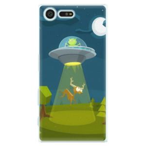 Plastové pouzdro iSaprio Alien 01 na mobil Sony Xperia X Compact