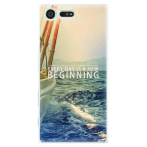 Plastové pouzdro iSaprio Beginning na mobil Sony Xperia X Compact