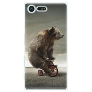 Plastové pouzdro iSaprio Bear 01 na mobil Sony Xperia X Compact