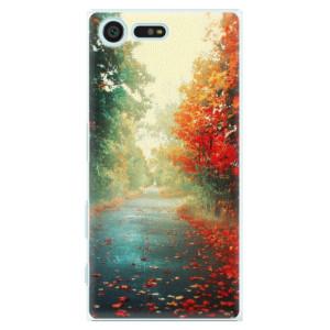 Plastové pouzdro iSaprio Autumn 03 na mobil Sony Xperia X Compact