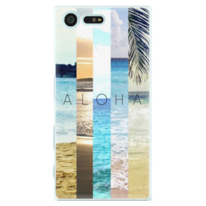 Plastové pouzdro iSaprio Aloha 02 na mobil Sony Xperia X Compact
