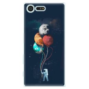Plastové pouzdro iSaprio Balloons 02 na mobil Sony Xperia X Compact