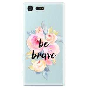 Plastové pouzdro iSaprio Be Brave na mobil Sony Xperia X Compact