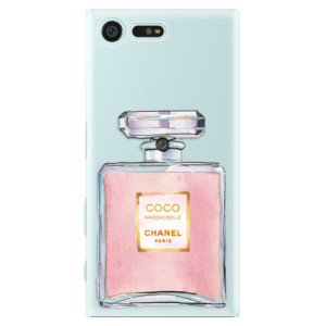 Plastové pouzdro iSaprio Chanel Rose na mobil Sony Xperia X Compact