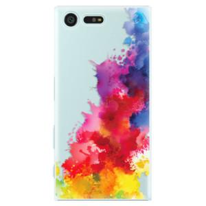 Plastové pouzdro iSaprio Color Splash 01 na mobil Sony Xperia X Compact