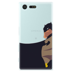 Plastové pouzdro iSaprio BaT Comics na mobil Sony Xperia X Compact