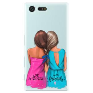 Plastové pouzdro iSaprio Best Friends na mobil Sony Xperia X Compact