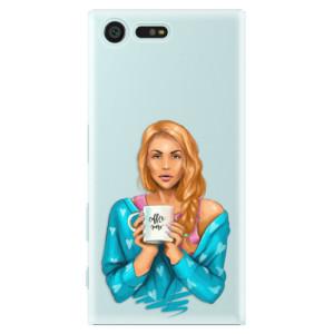Plastové pouzdro iSaprio Coffee Now Zrzka na mobil Sony Xperia X Compact