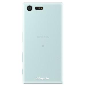 Plastové pouzdro iSaprio 4Pure mléčné bez potisku na mobil Sony Xperia X Compact