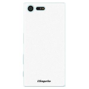 Plastové pouzdro iSaprio 4Pure bílé na mobil Sony Xperia X Compact