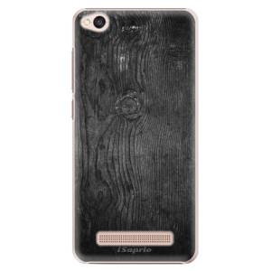 Plastové pouzdro iSaprio black Wood 13 na mobil Xiaomi Redmi 4A