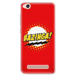 Plastové pouzdro iSaprio Bazinga 01 na mobil Xiaomi Redmi 4A